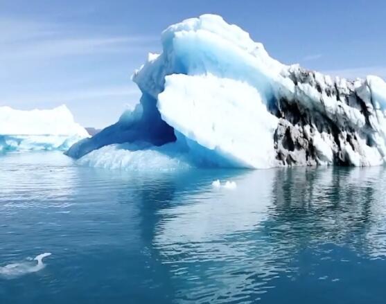 潮汐 冰川 雷达实拍片段