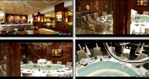 餐厅动画成片