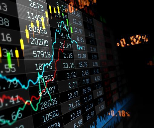 股市曲线动画成片
