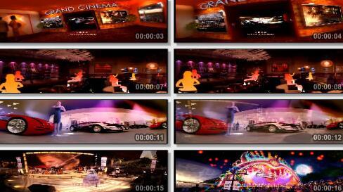 娱乐展厅三维片段