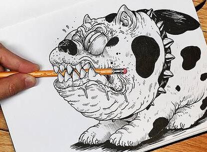 當插畫師無聊了,都在干什么?