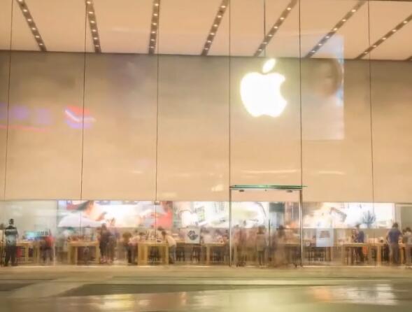 苹果专卖店实拍片段