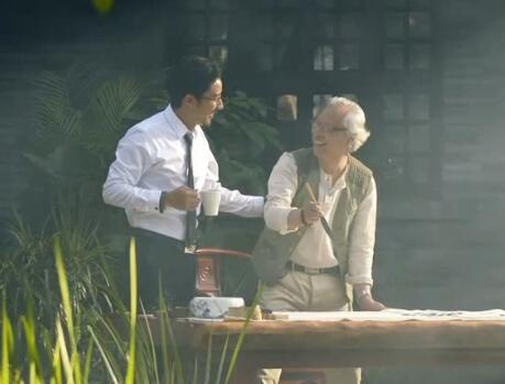 老年人活动实拍片段