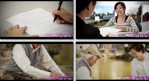 银行工作情况实拍短片