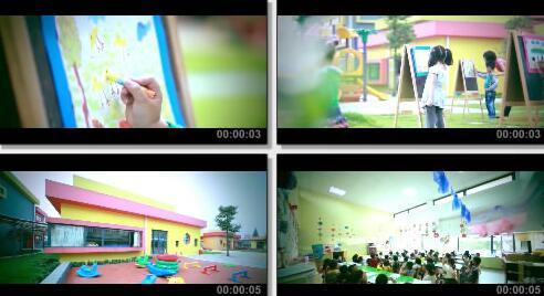 幼儿园实拍片段