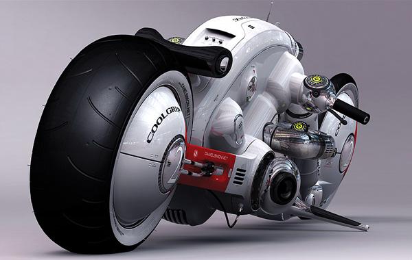 超级炫酷的未来概念摩托车