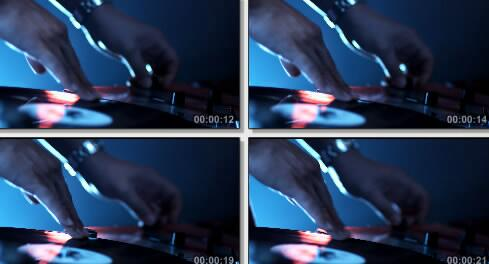 调试唱片实拍片段