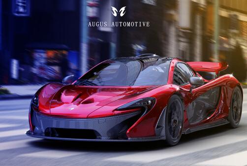 Mclaren P1 CGI 真實汽車渲染