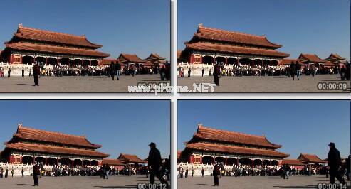 寺庙建筑实拍片段