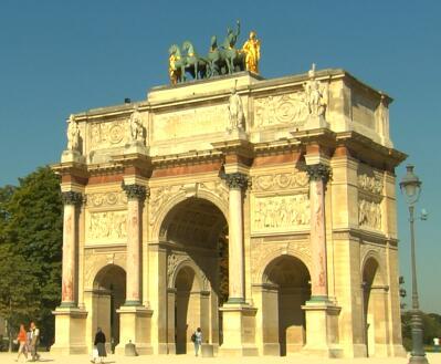 欧式石拱门实拍片段