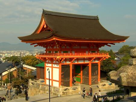 城市建筑,庙宇建筑实拍片段