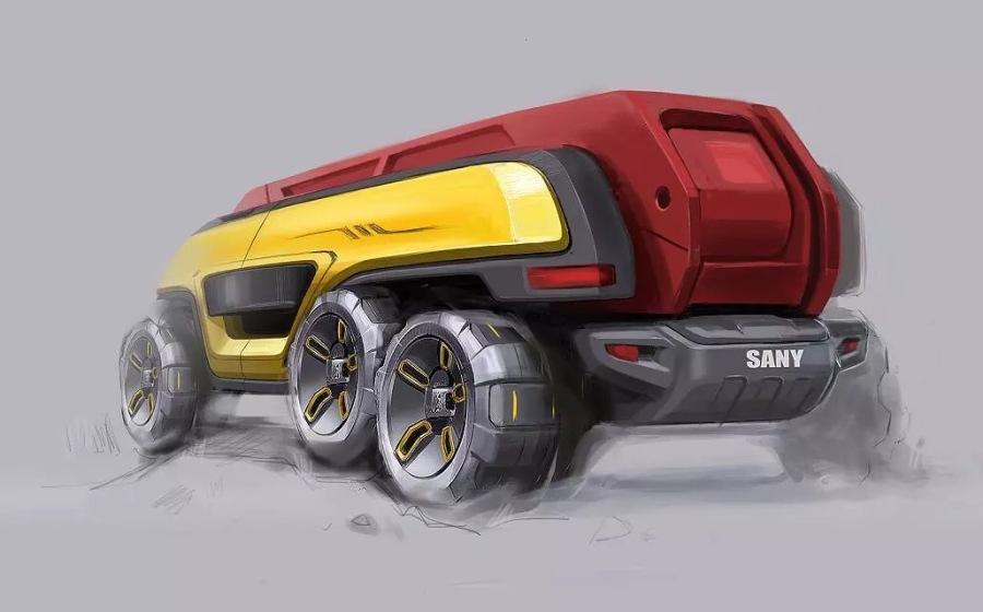 重型汽車概念設計