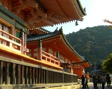 庙宇建筑实拍片段
