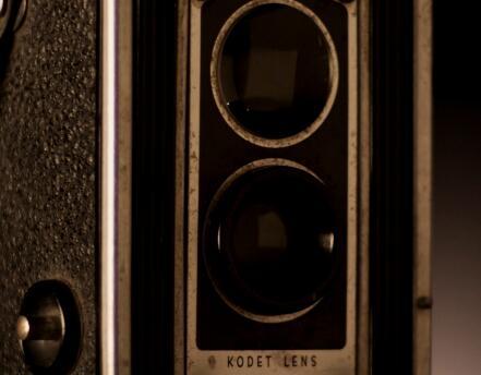 老式相机多角度拍摄实拍片段