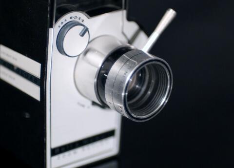 相机镜头实拍片段