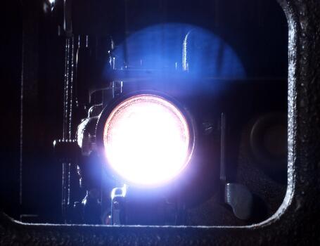 摄像专用灯光实拍片段