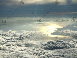 流动的云实拍视频素材