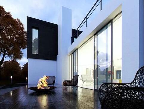 Steven 系列教程之:现代风格住宅别墅建筑表现教程