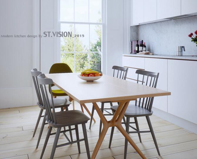 【斯特】-北歐公寓-廚房篇-CGI