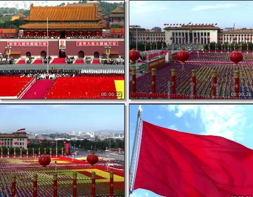 天安门广场视频片段