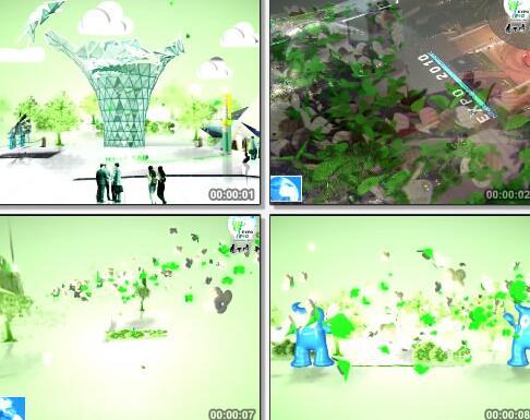 世博会开幕式动画片头