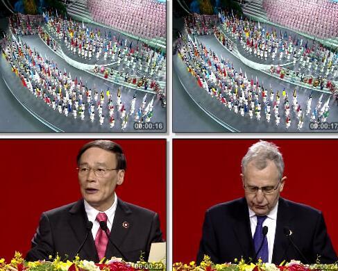 世博会开幕式视频片段