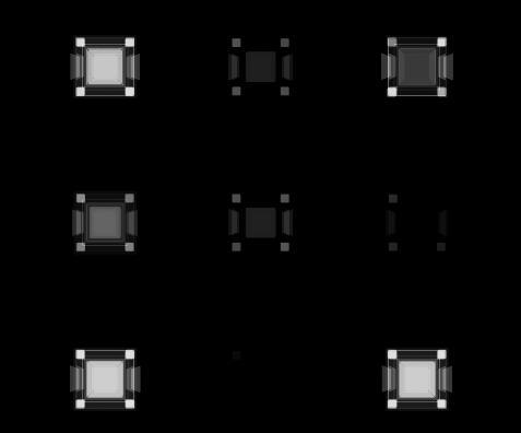 黑白视频背景素材