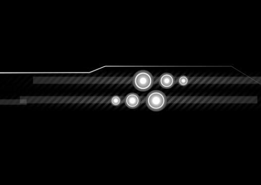 科技既视,感黑白视频背景素材