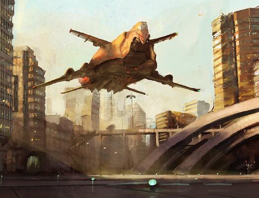現代戰爭型游戲原畫作品集