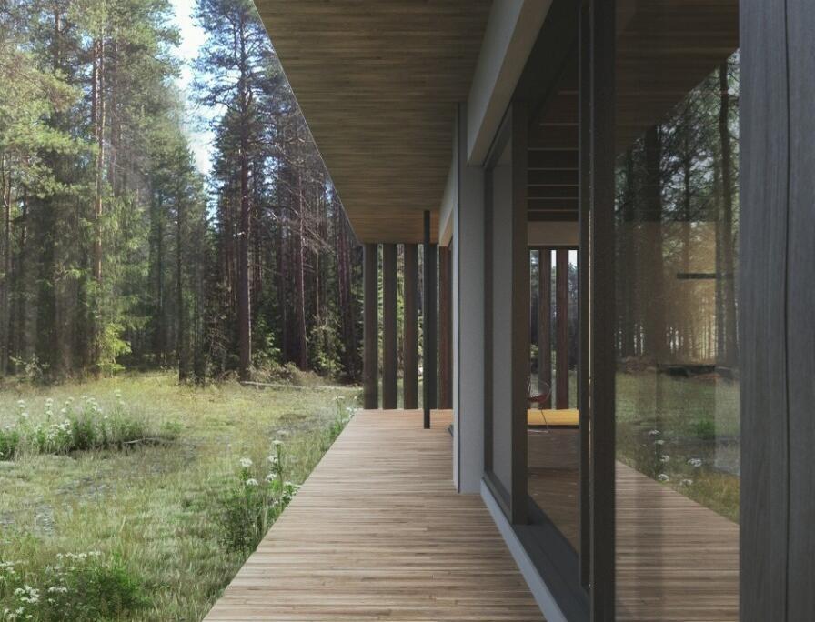 一組寫實建筑表現效果圖欣賞