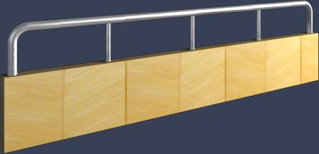简易护栏模型下载