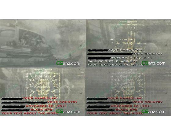 模拟游戏特效AE模板