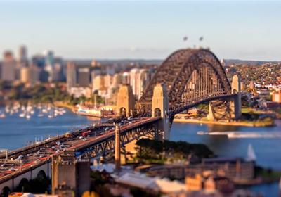 移轴延时摄影短片 -- 悉尼 Tiny Sy