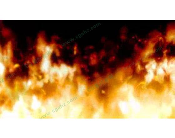 用AE模拟逼真的火焰燃烧特效