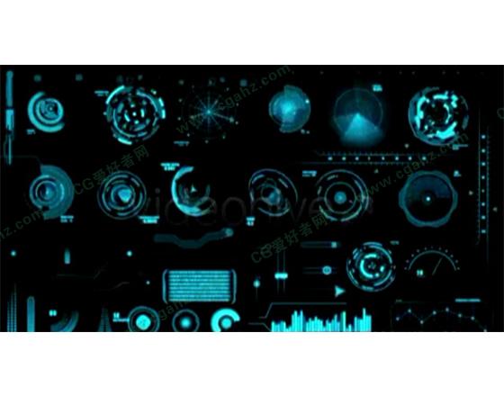 超强科技装饰元素动画合辑AE源文件