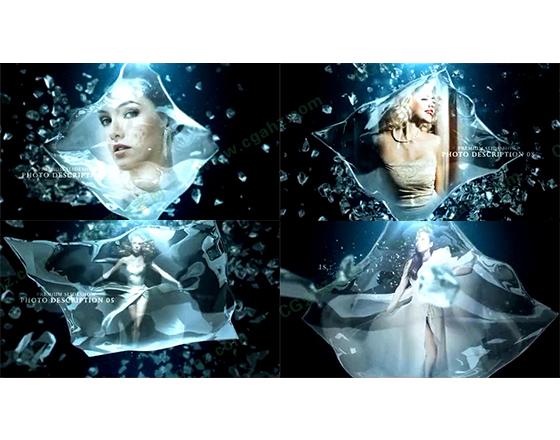 奢华迷醉的水晶钻石主题包装AE模板