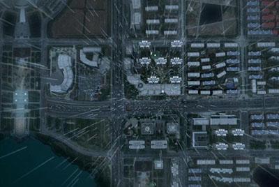 三维建筑动画 信达天御 - 冰爵数字科技