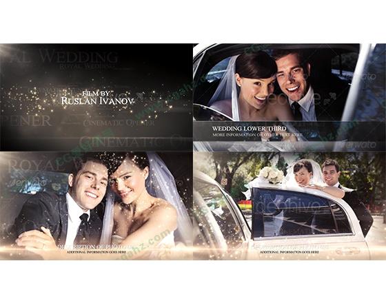 婚礼婚庆设计包装AE模板