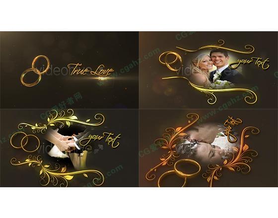完美婚礼AE模板