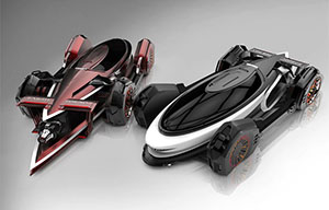 超炫酷的概念汽車設計欣賞