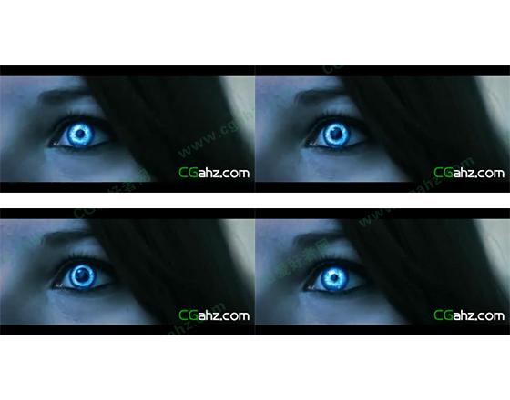 用AE制作特殊的眼球虹膜特效AE模板