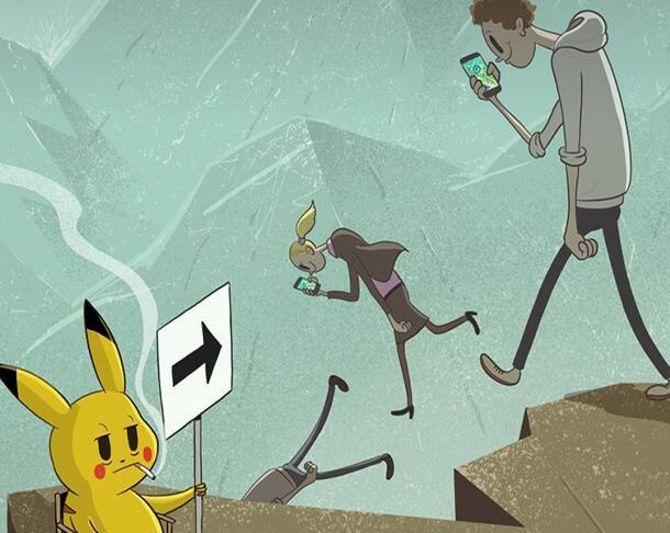 英国鬼才导演现代讽刺动画《我们迷失在这世界》