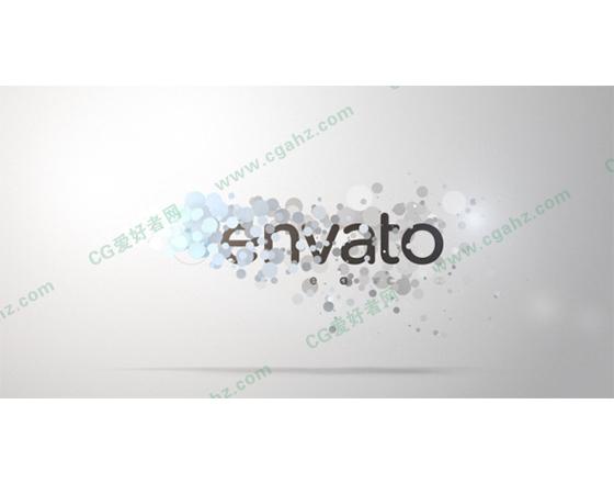 炫丽的logo演绎展示片头AE模板