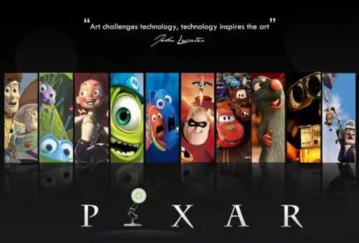 """动画人必看:皮克斯的""""七大创意原则"""""""