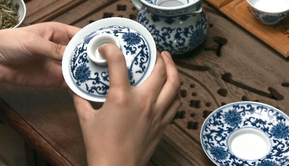 茶艺绽放展示4K高清视频展示