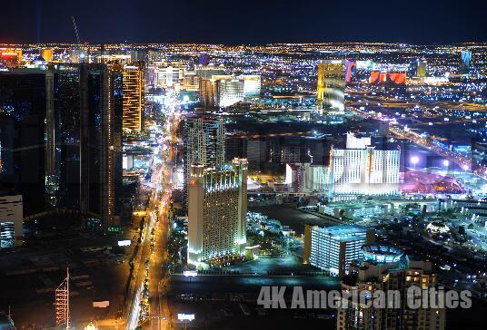 美国的城市4K高清演示片