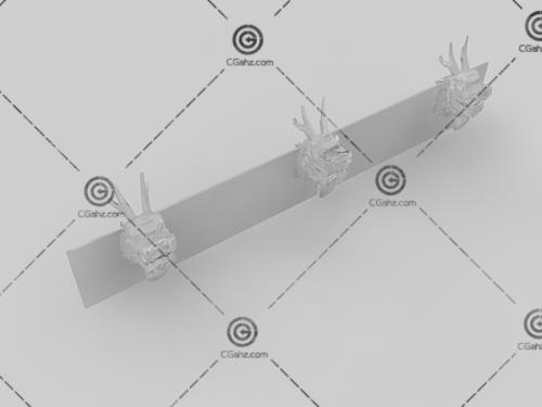 喷水龙头3D模型