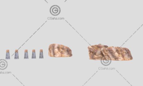 大石头3D模型