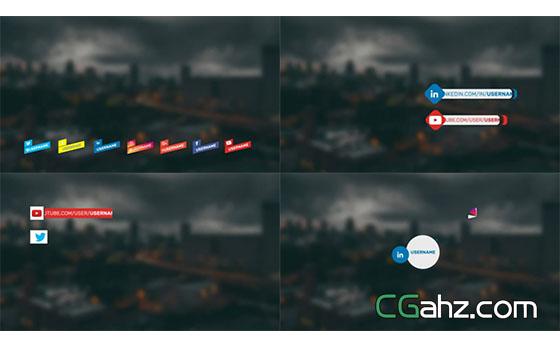 应用程序渲染推广宣传片头展示AE模板
