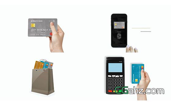 信用卡的推廣營銷小動畫AE模板